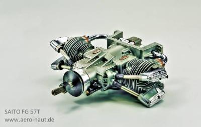SAITO-Benzinmotore