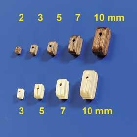 Blöcke 5mm (100 Stück)