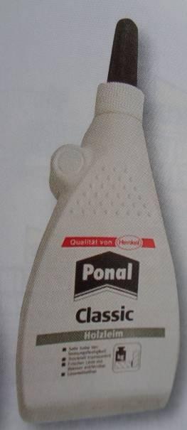 PONAL Classic Holzleim, Flasche 225 g