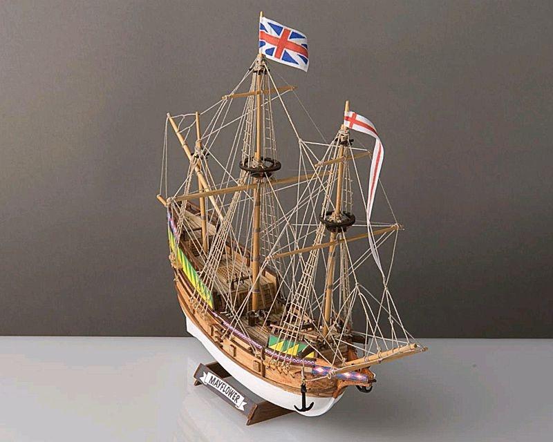 Mayflower 1:140 Baukasten, Länge 33 cm
