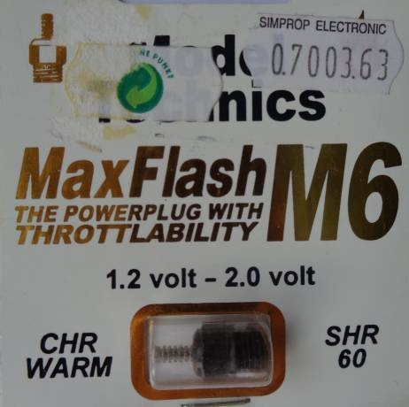 Glühkerze MAX FLASH  M 6, warm