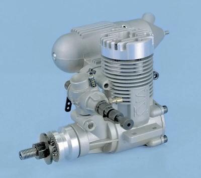 SC 25 A-ABC, 4 ccm 2-Takt-Motor mit Schalldämpfer
