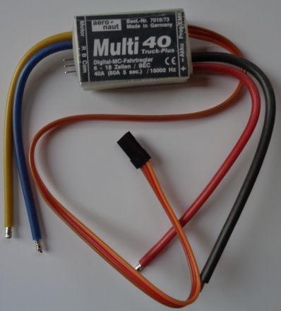Multi mos mc 40A Truck-Plus