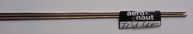 Neusilberdraht, Ø 1 mm, Länge: 1 m, 1 Stück