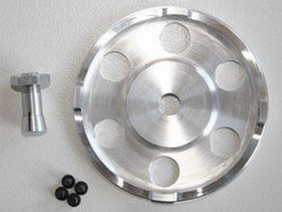 GFK-Spinner für Elektromotoren 50 mm, weiß 3,17 mm