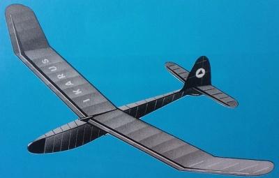 IKARUS Segelflugmodell (Spannw. 150 cm)