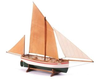 Le Bayard 1:30 Baukasten eines französischen Fischerboats