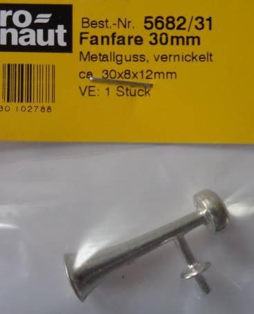 Fanfare, Länge 30 mm