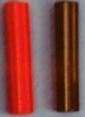 KUPPLUNGEN für Bananenstecker,rot/schwarz, beidseitig(1Paar)