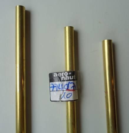 Messingrohr  7.0 / 6.1mm, Länge 1 m, 1 Stück