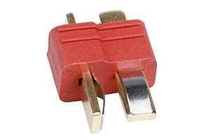 T - Stecker 2 polig(10 Stück)