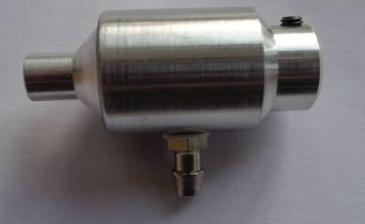 Schalldämpfer f. 3,5 4-Takt-Motor