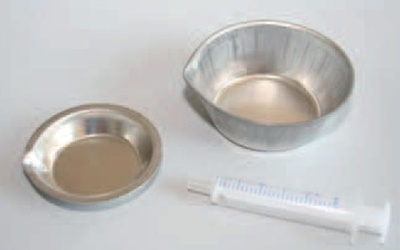 Mischtöpfchen, Grüße A, Ø 50 x 9 mm, ca. 10 ml, 12 Stück