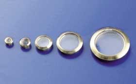 Bullaugen o.Flansch 5mm (10Stück)