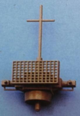 Entfernungs-Messer mit Funkmeßgerät,  39mm breit, 54 mm hoch