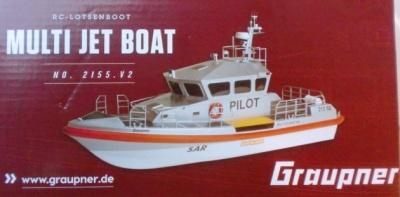 MULTI JET BOAT RC Boot Elektro, Länge 66,50 cm