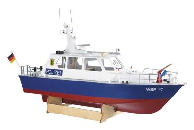Polizeiboot WSP47 Bausatz (Länge 60 cm)  - NEU -
