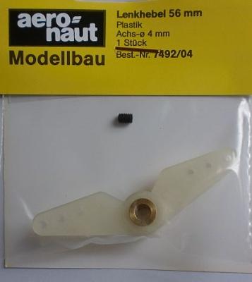 LENKHEBEL 56 mm, Plastik
