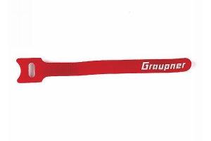 Klett-Kabelbinder rot 150 mm, 10 Stück,   -NEU-
