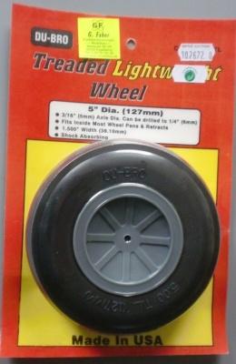 Light Wheels 127 mm, 1 Stück