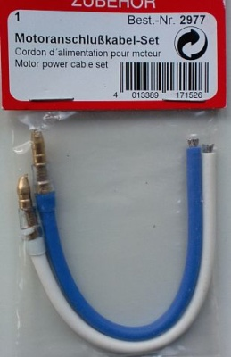 Motoranschlusskabel-Set 4 mm