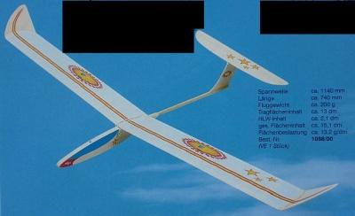 STAR A1-Segelflugmodell
