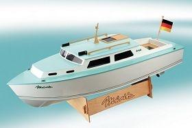 Müritz Kajütboot Baukasten (Länge 65 cm)