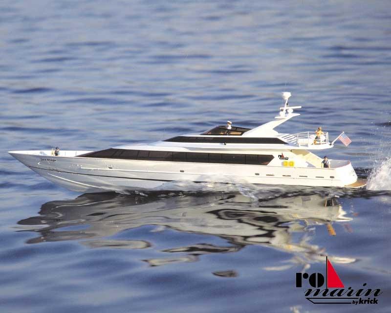 San Diego Mega Yacht  Baukasten, Länge 127 cm