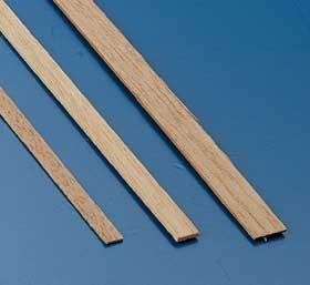 Tanganjicaleisten 0,5 x 7 mm, 1 m lang, 10 Stück