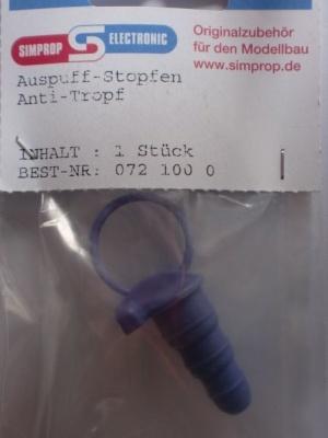 Auspuff-Stopfen Anti-Tropf