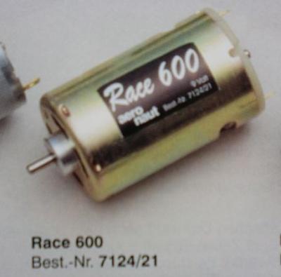 Race 600, 6 - 12 V