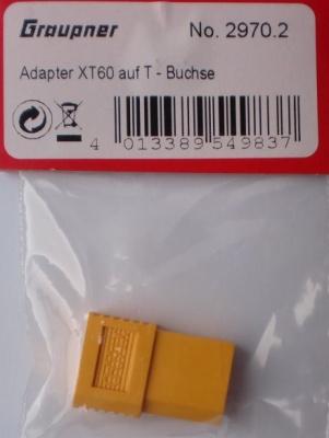 Adapter XT60 auf T-Buchse