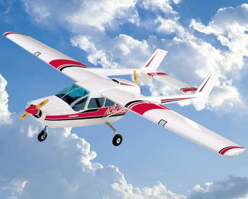 Cessna Skymaster Baukasten  - Spannweite 2,20 m -