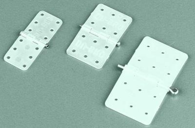 Nylon Scharniere, Breite 16 mm, Länge 28 mm, 12 Stück