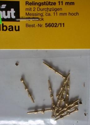 Relingstütze 2D/11mm