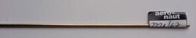 Neusilberdraht, Ø 2 mm, Länge: 1 m, 1 Stück