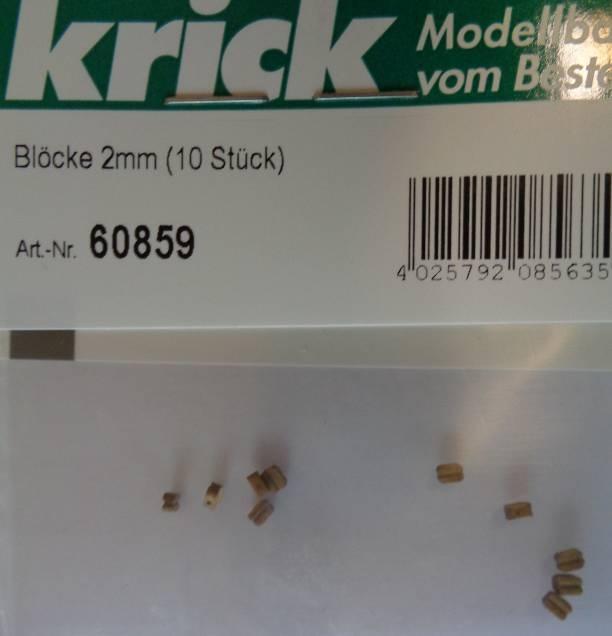 Blöcke 2mm (10 Stück)