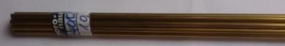 Messingrohr  10.0/8.1 mm, Länge 1 m, 1 Stück