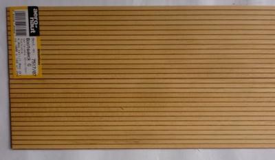 BOOTSDECK 4,0h/1,0d, Länge 1 m, Breite 15 cm (2 x 7,5 cm)
