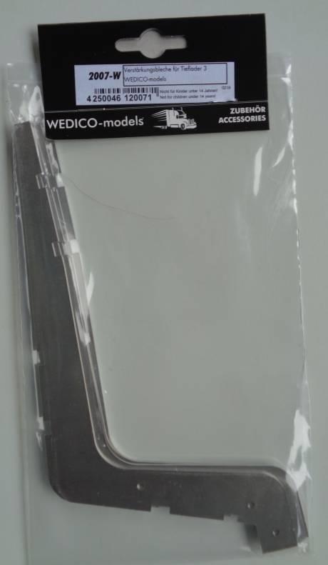 Verstärkungsbleche für Tieflader  3,      WEDICO-models