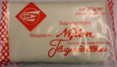 Superleichtes Bespann-Nylon, gelb
