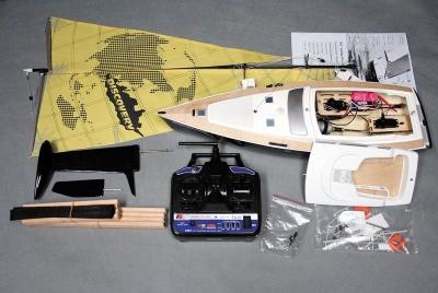 Discovery II Segelboot RTR (Länge 62 cm)  -NEU-