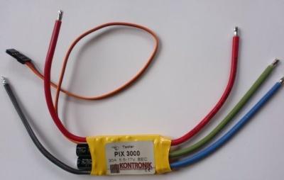 K 4302 Kontronik PIX 3000 - Drehzahlsteller -
