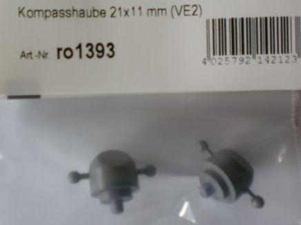 Kompasshaube 21 x 11 mm (VE2)