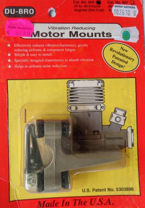 Motorträger 2,5-8,0 ccm   - Sonderpreis -