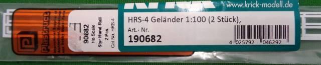 HRS-4 Geländer 1:100 (2 Stück)