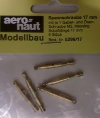 Spannschraube , Schaftlänge 17 mm