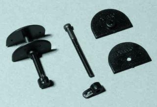 2 x Micro Ruderhorn für Indoor u. Parkfl., - verstellbar