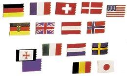 Flaggen, Flaggenstöcke
