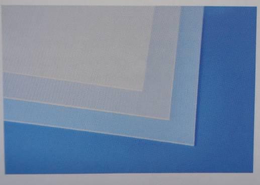 Evacast Platten aus Polypropylen, transparent matt
